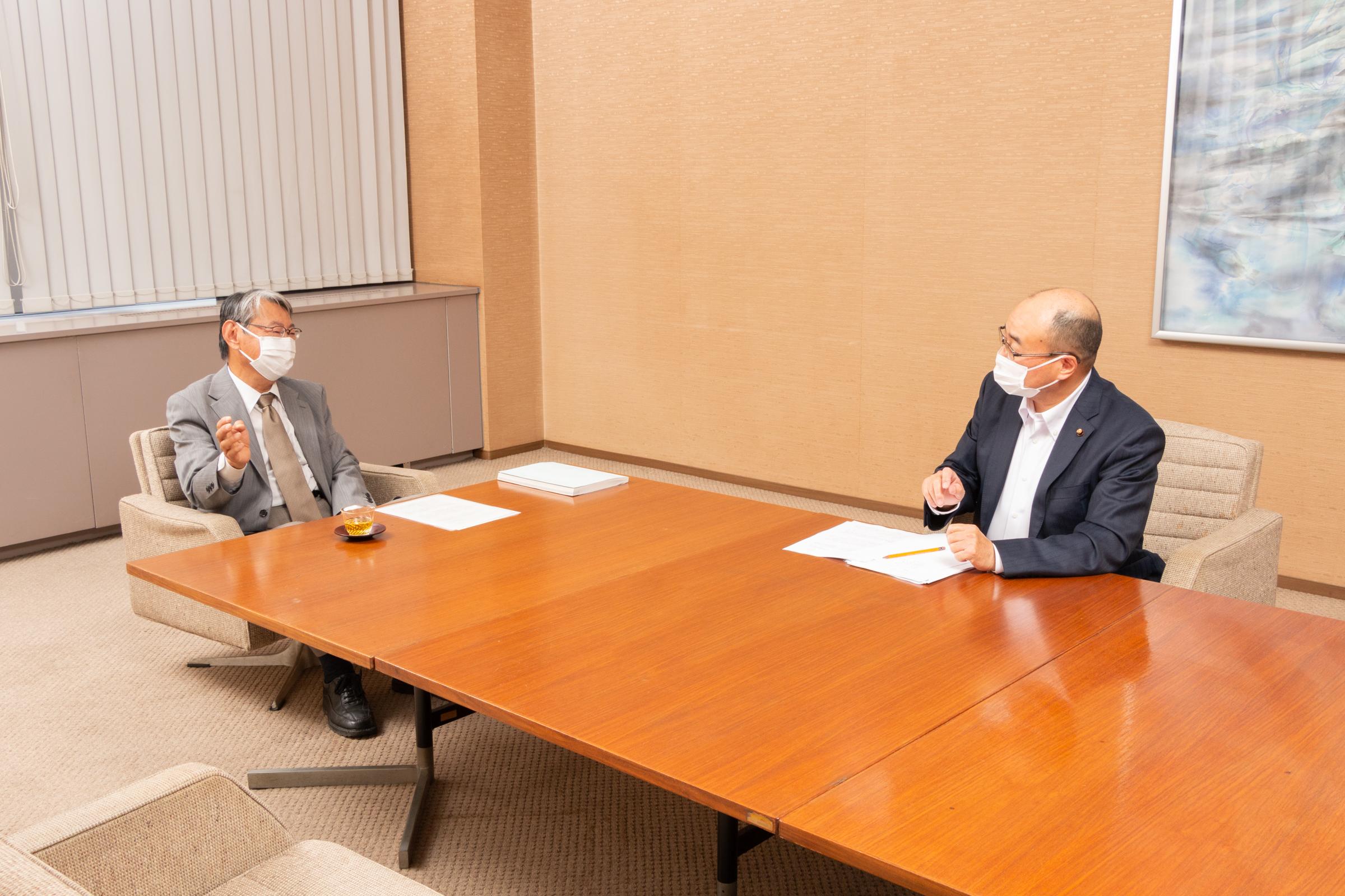 武田会長と菅野